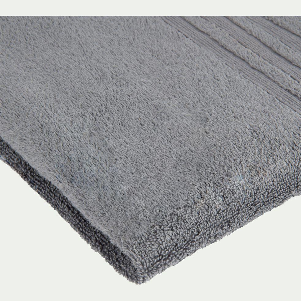 Linge de toilette gris anthracite-NOUN