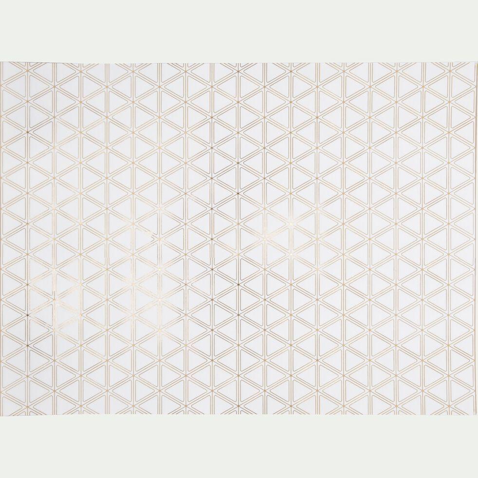 Set de table en papier blanc-ACTE