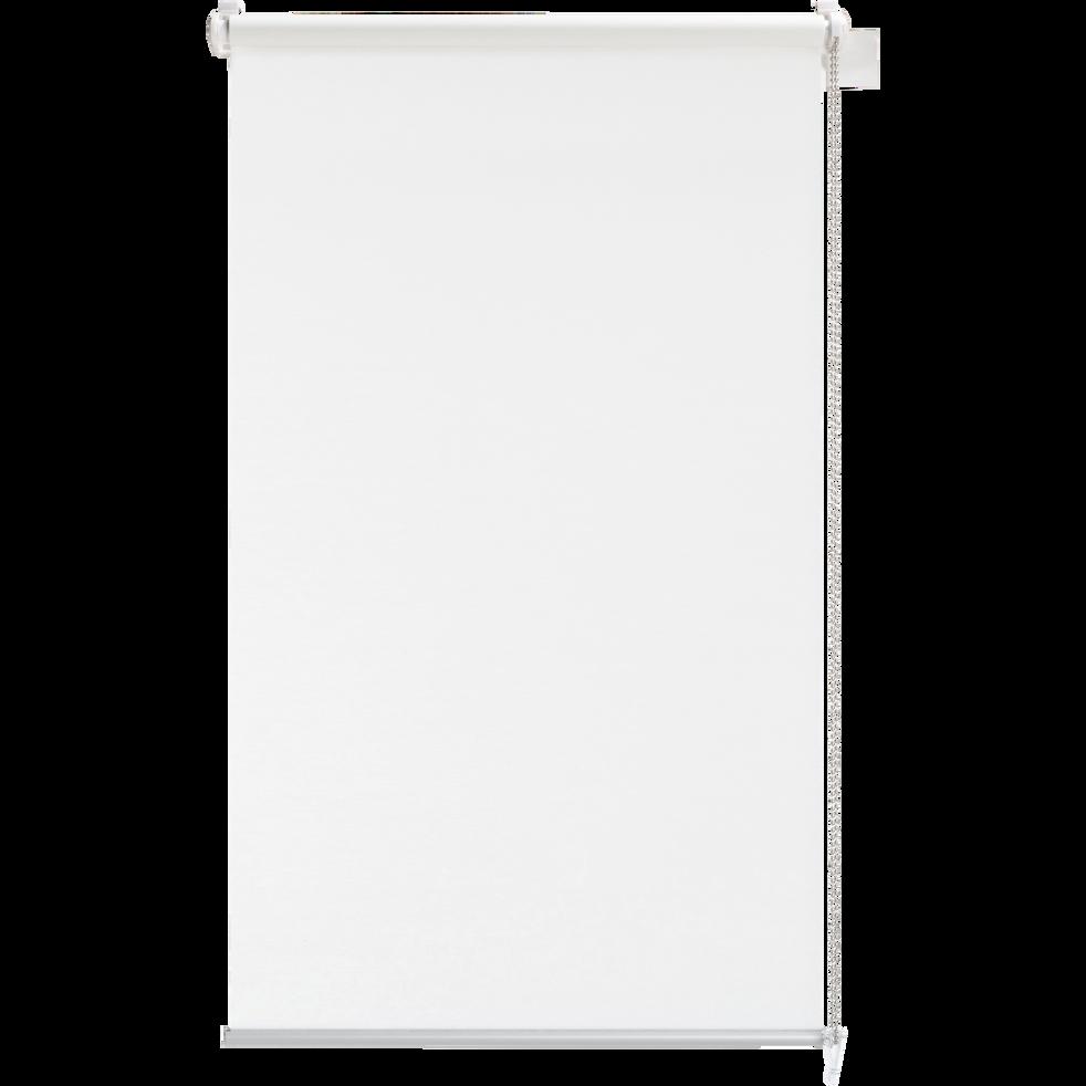 Store enrouleur voile blanc 62x170cm-EASY VOILE
