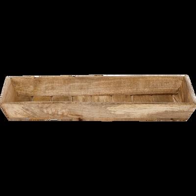 Plateau en bois 46x20cm-MANGUA