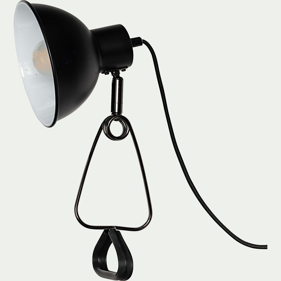 Lampe à pince - noir H32,5cm-MOYS