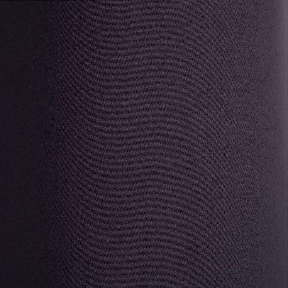 Rideau occultant à œillets en polyester - gris calabrun 140x250cm-GORDES