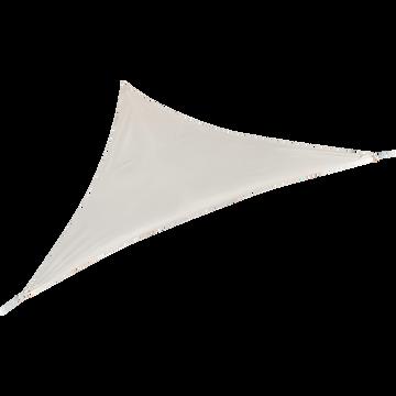 Voile d'ombrage triangulaire 3,5m beige roucas-ROSA