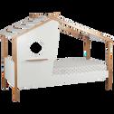 Lit cabane avec hublot 90x200cm-AMELIE