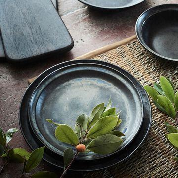 Service de vaisselle en porcelaine - noir