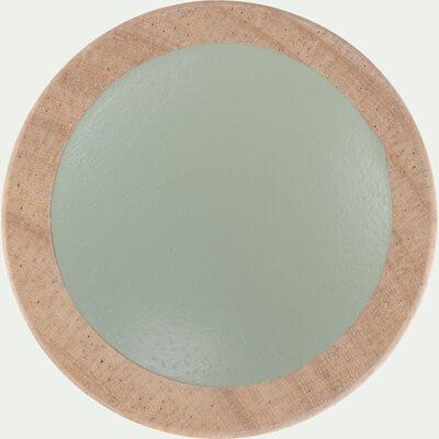 Poignée en bois vert olivier-SIMPLY