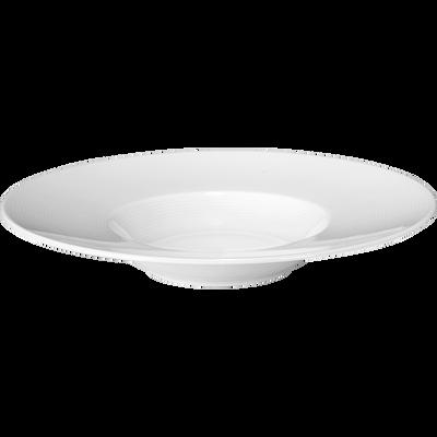 Assiette à risotto en porcelaine qualité hôtelière D27cm-Eto