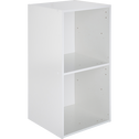 Structure 2 cases en bois blanc H 68,80 cm-ZACCHARIE