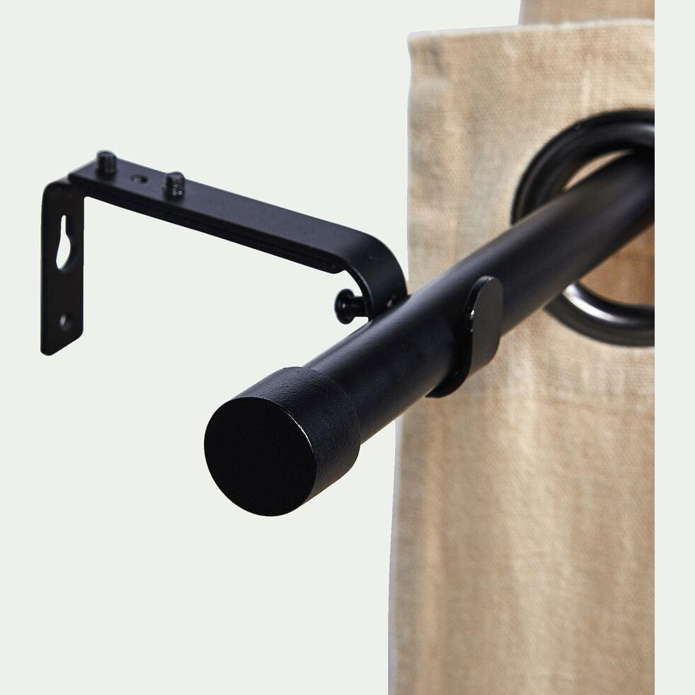 Tringle extensible en acier noir 95 à 180 cm-MANON
