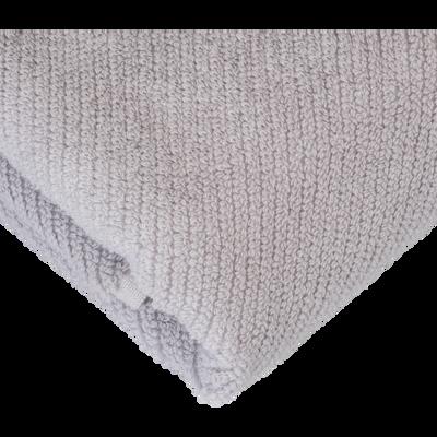 Serviette invité gris borie 30x50cm-COLINE