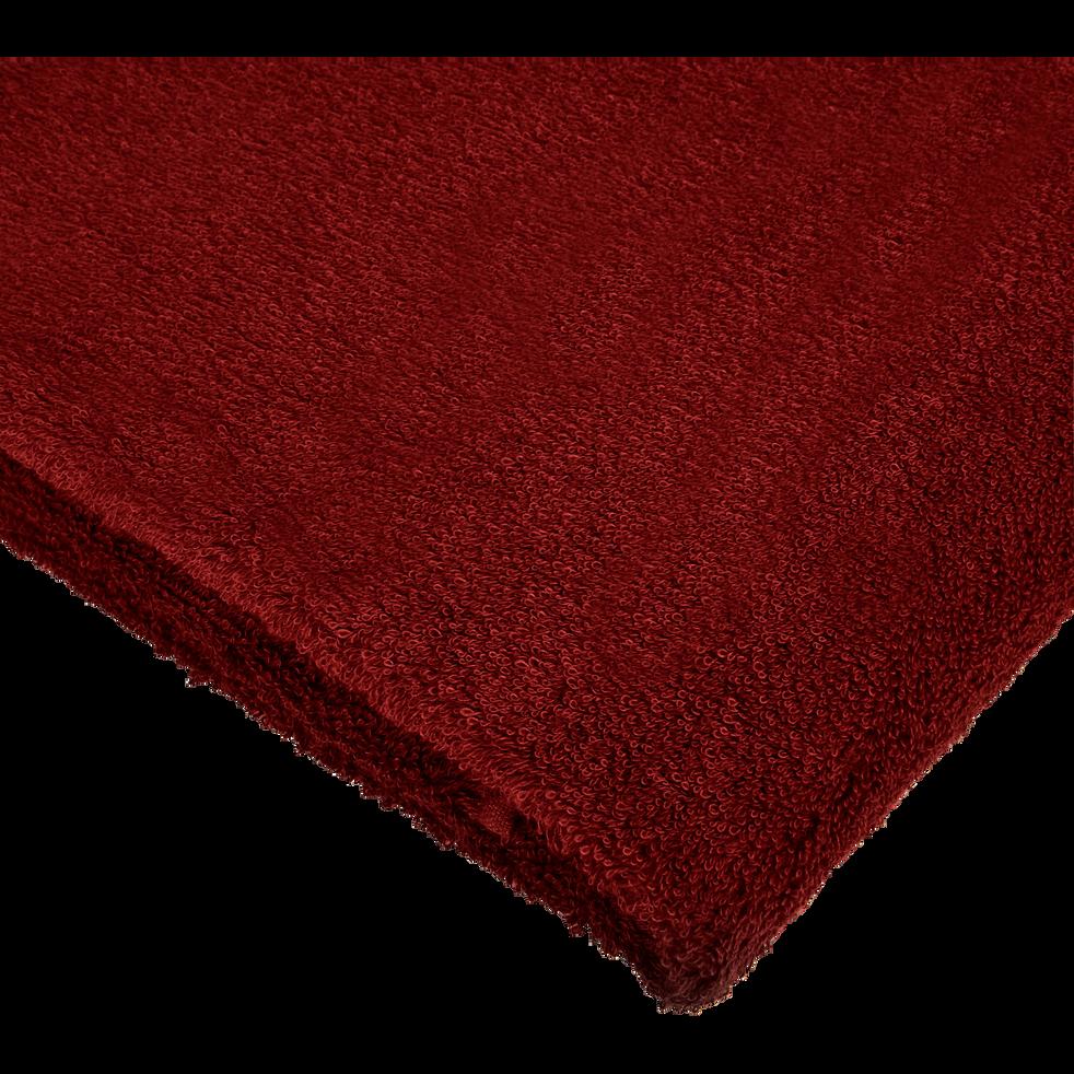 Linge de toilette rouge sumac-ARROS