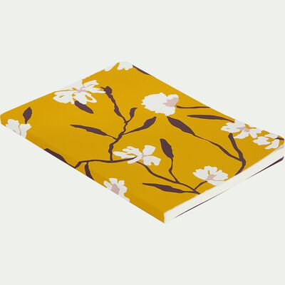 Carnet A6 motif jaune-DANGWA