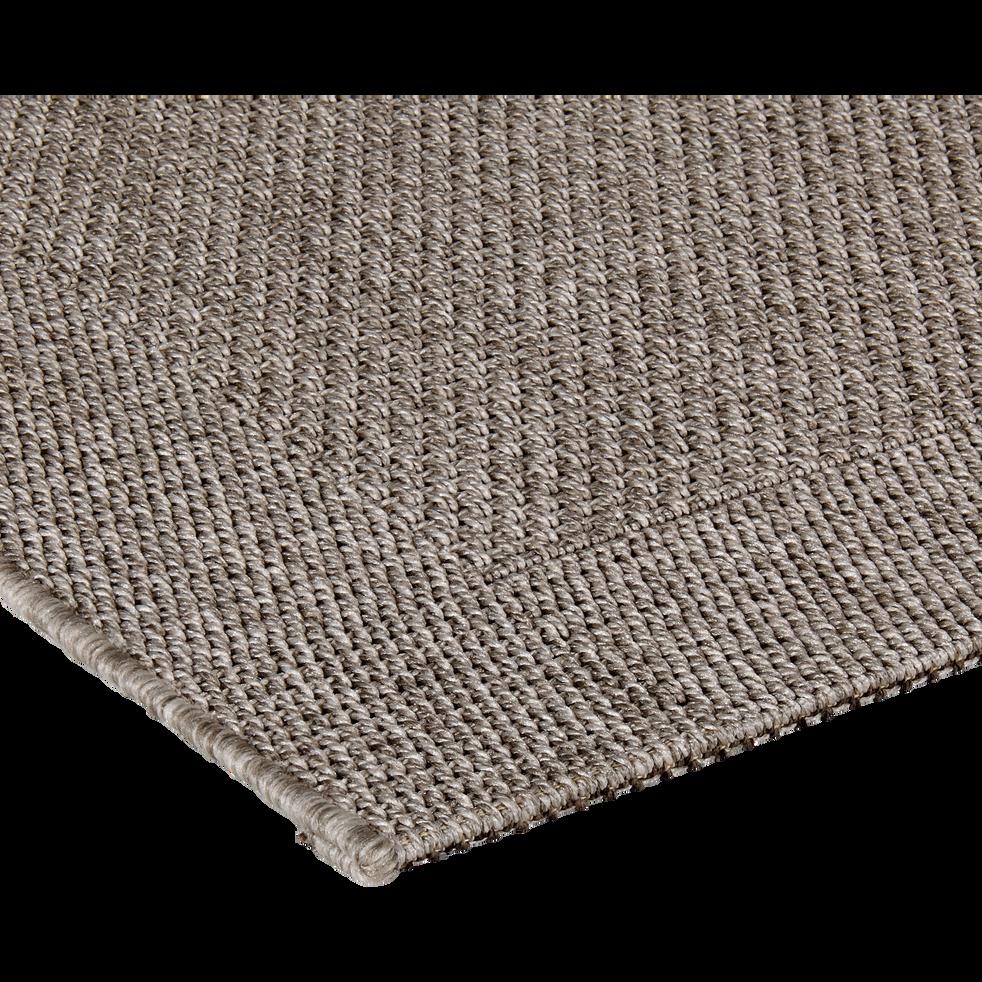 tapis int rieur et ext rieur gris plusieurs tailles kelly 160x230 cm catalogue. Black Bedroom Furniture Sets. Home Design Ideas