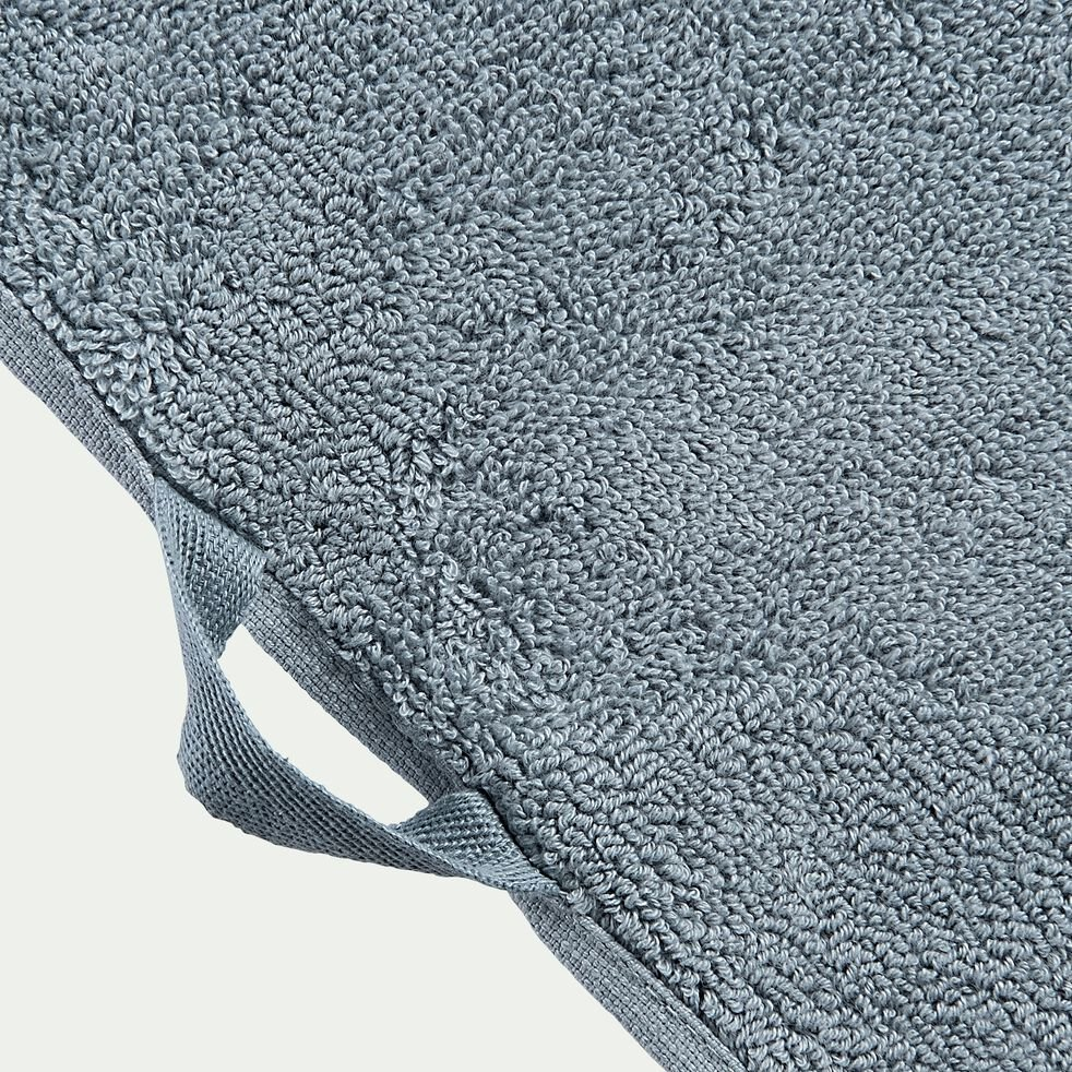 Drap de bain en coton - bleu calaluna 100x150cm-Ryad