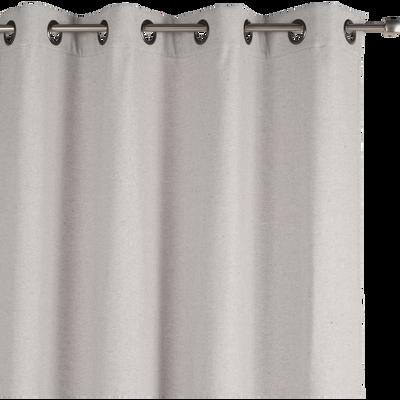 Rideau thermique gris borie 140x250cm-CEZE