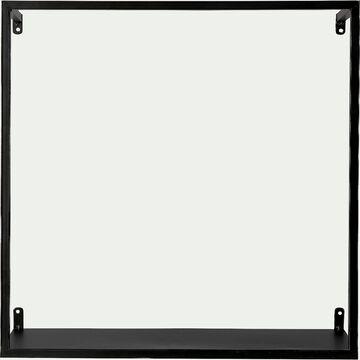 Étagère déco en métal - noir H40xL40cm-LOUIS