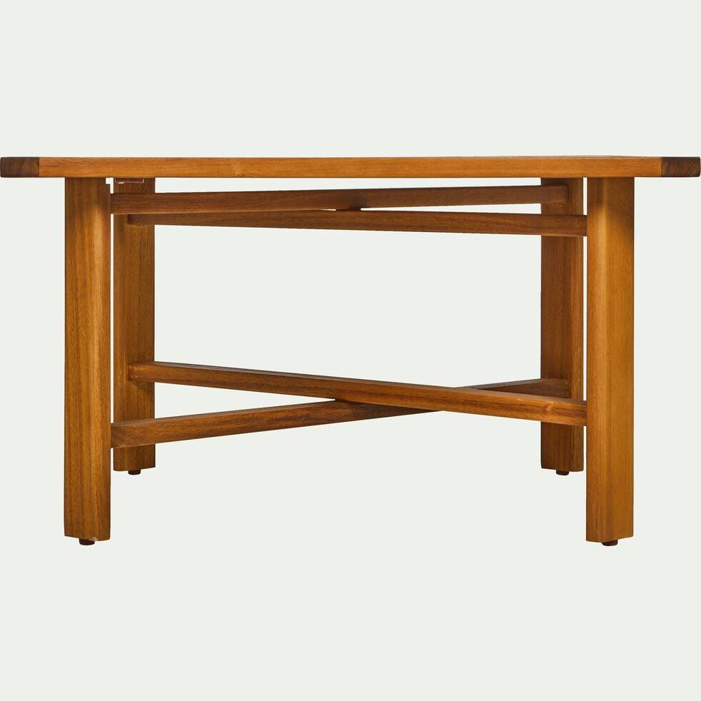 Table basse en acacia L70xH40cm-ESCALET