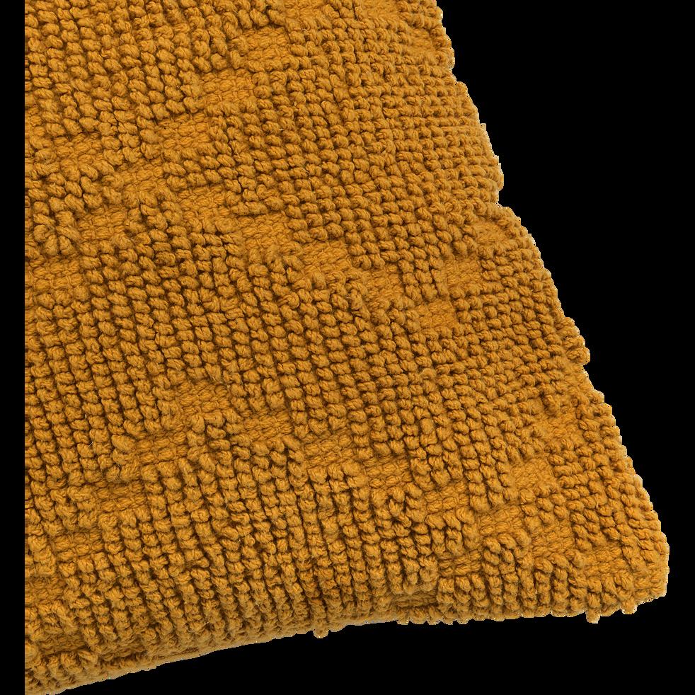 Coussin rectangulaire en coton beige nèfle 40x60cm-LANI