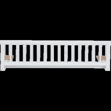 Barrière de lit universelle en hêtre massif Blanc-Titou