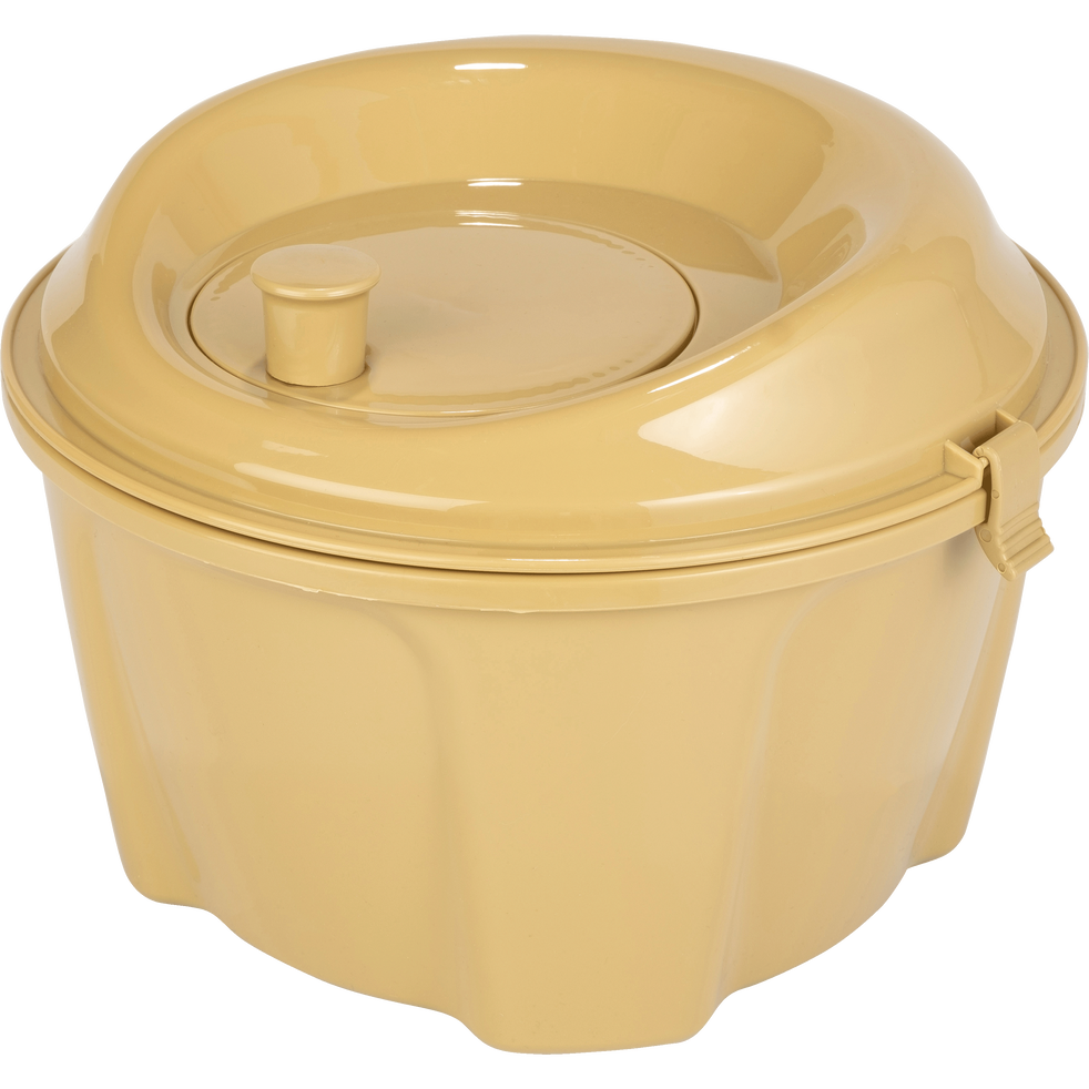 Essoreuse à salade beige nèfle D25cm-ESTOURA