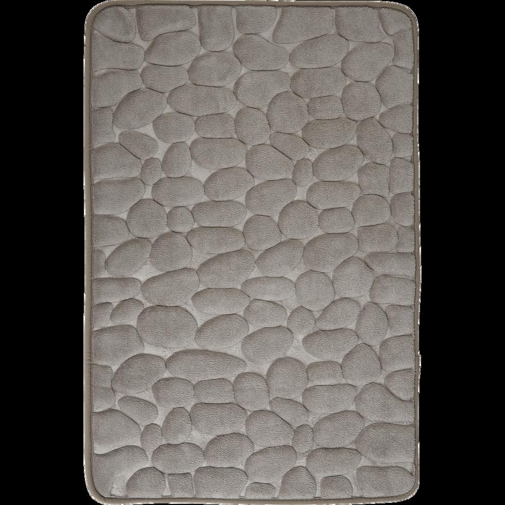 tapis de bain 50x80cm à mémoire de forme - galetto - tapis de bains