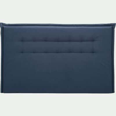 Tête de lit en tissu capitonné Bleu myrte - L180 cm-NOCTURNE