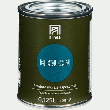 Peinture acrylique mate multi-supports - bleu niolon 0,125L-PEINTURE