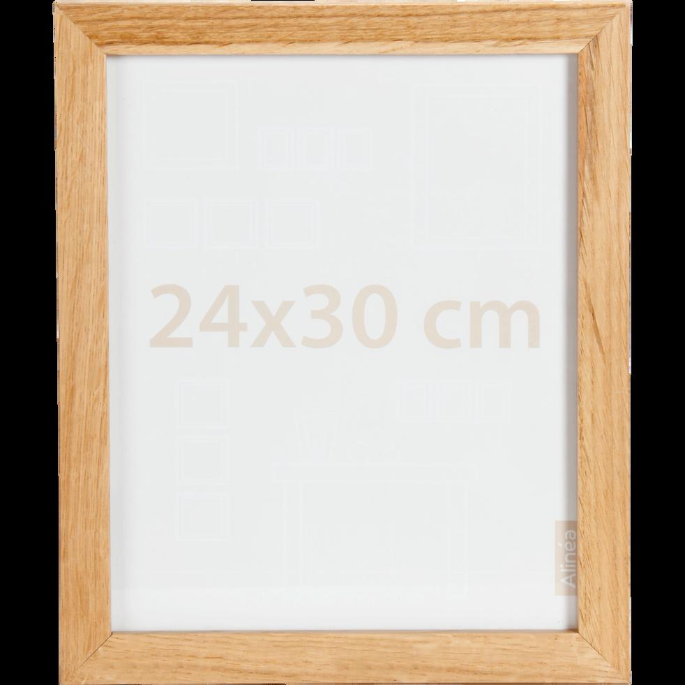 Cadre photo naturel 24X30cm-CHÊNE