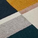 Tapis rond graphique multicolore D160cm-Mahe