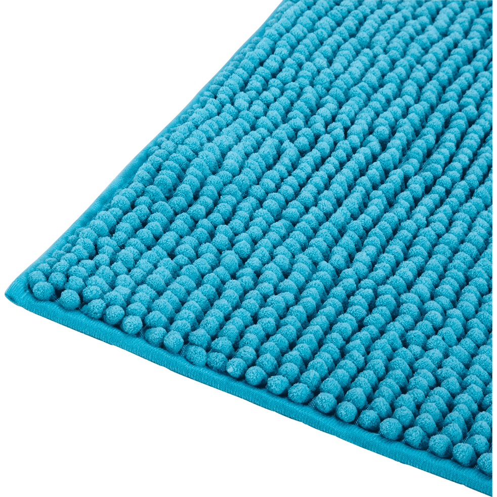 tapis de bain 50x80cm bleu turquoise pico 50x80 cm tapis de bains et callebotis alinea. Black Bedroom Furniture Sets. Home Design Ideas