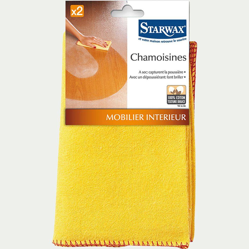 Lot de 2 chamoisines 40x50cm-Starwax