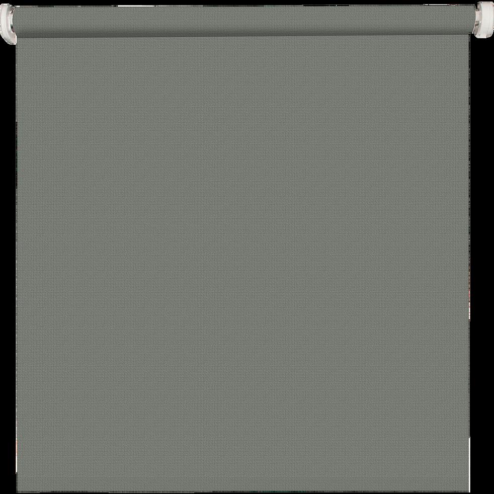 Store enrouleur occultant gris clair 80x190cm-OCCULTANT