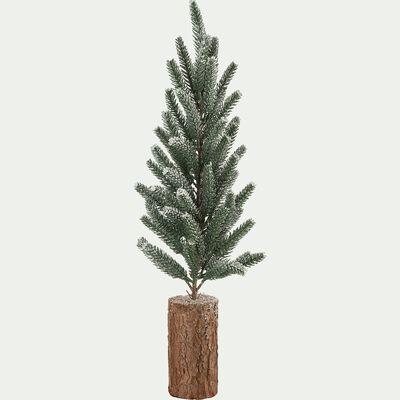 Mini sapin de Noël - D5x55cm vert-PAMANES