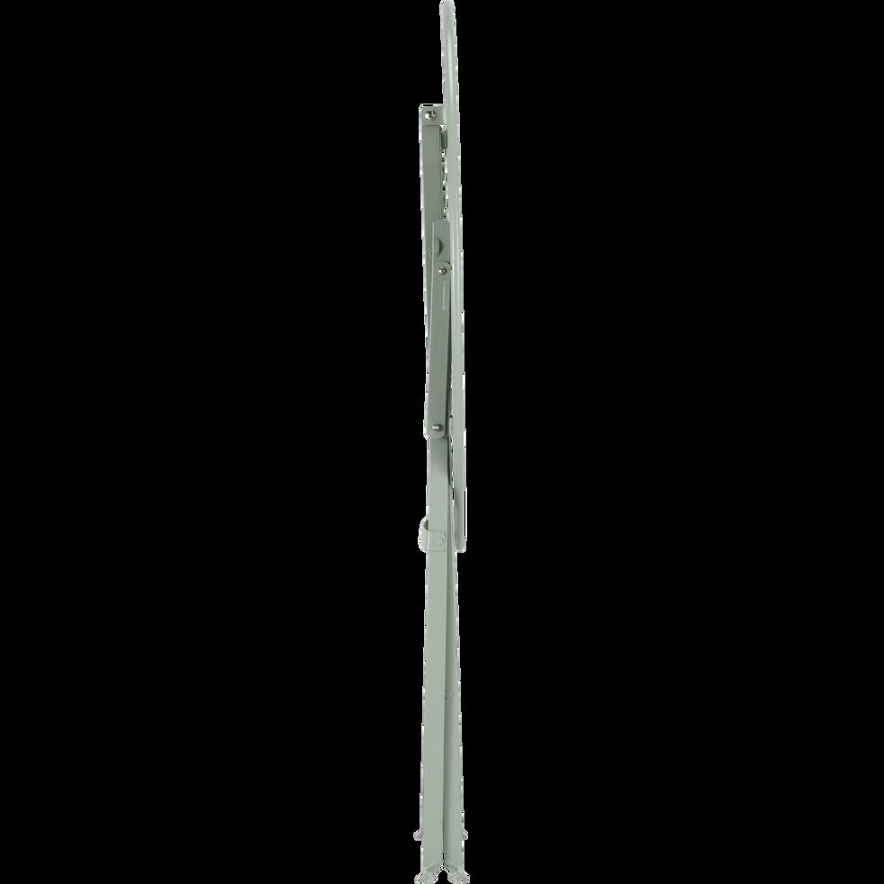 Table de jardin pliante vert olivier D60cm (2 places)-PIMS