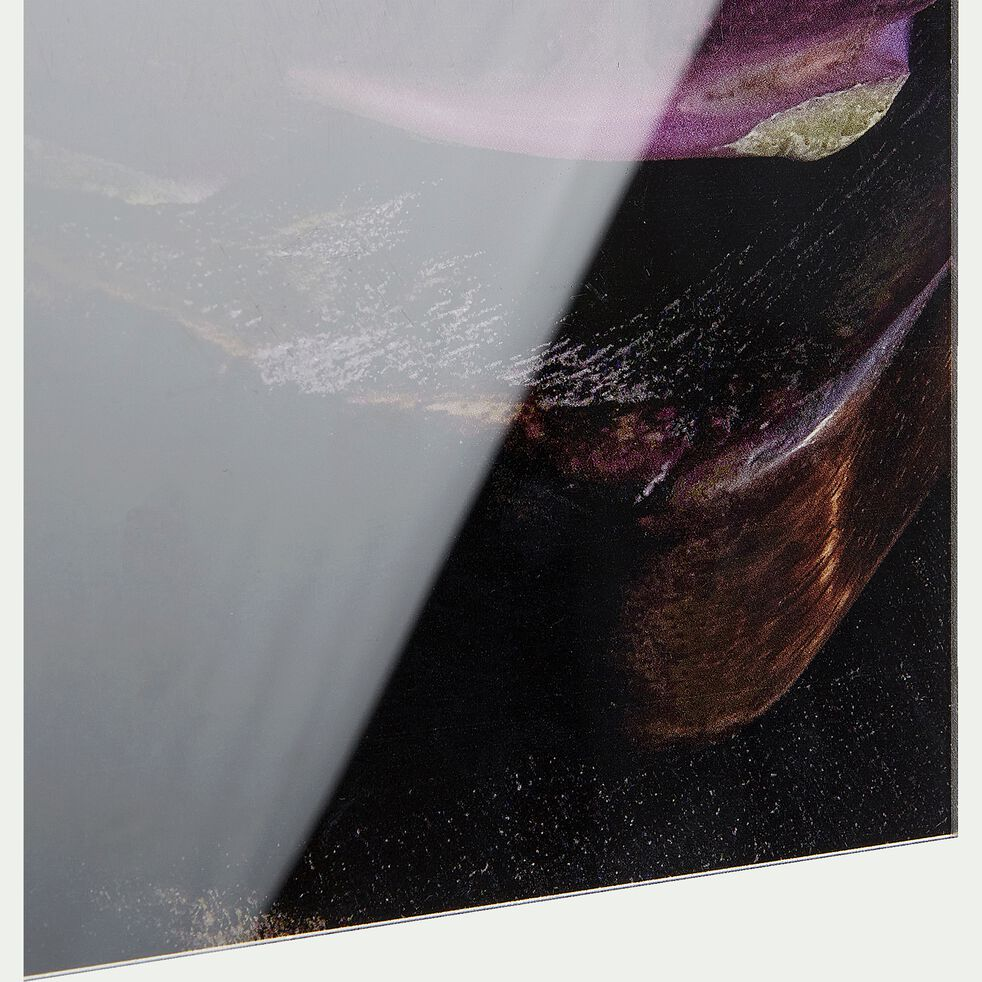 Image plexi à motif L40xl50cm - noir-CEBO