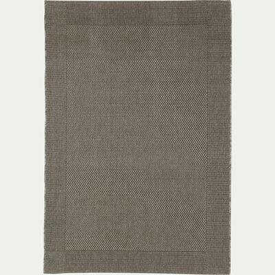 Tapis intérieur et extérieur - gris 120x170cm-KELLY