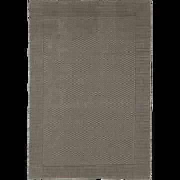 Tapis intérieur et extérieur gris - Plusieurs tailles-KELLY