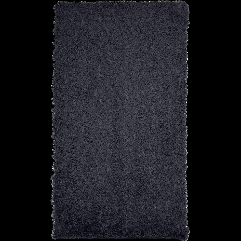 Descente de lit shaggy gris calabrun 60x110cm-CELAN