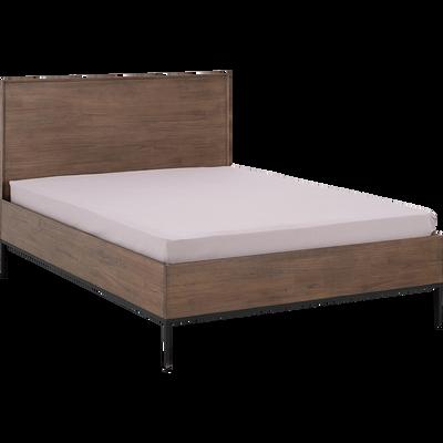bout de lit en mindi massif clarisse tables de chevet. Black Bedroom Furniture Sets. Home Design Ideas