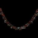 Guirlande à grelots couleur bronze L180cm-HUGON