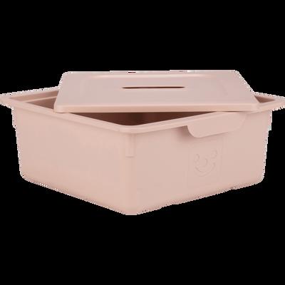 Tiroir de rangement 10L rose argile-ZACCHARIE