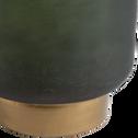 Photophore en verre vert H39cm-Mindelo