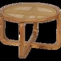 Table basse de jardin en teck massif-GRIMAUD