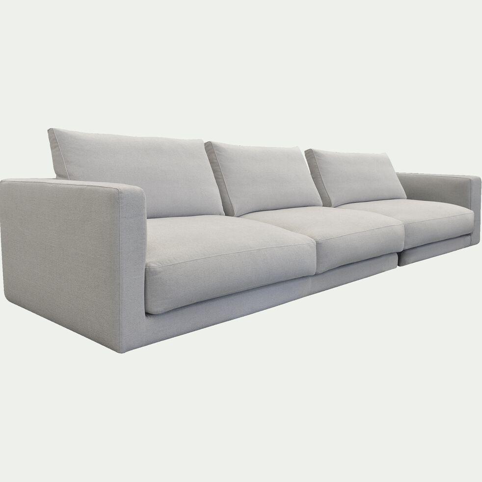 Canapé droit 5 places en tissu - beige roucas-AUDES