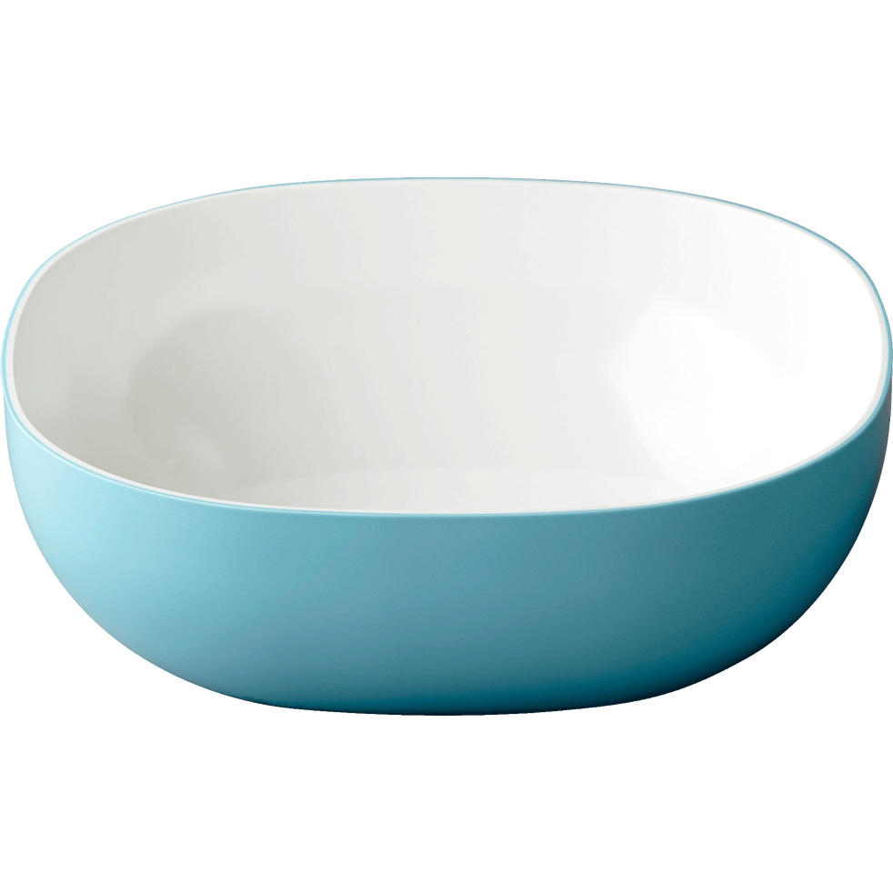 Saladier en mélamine bleue 2.5L-FLASH