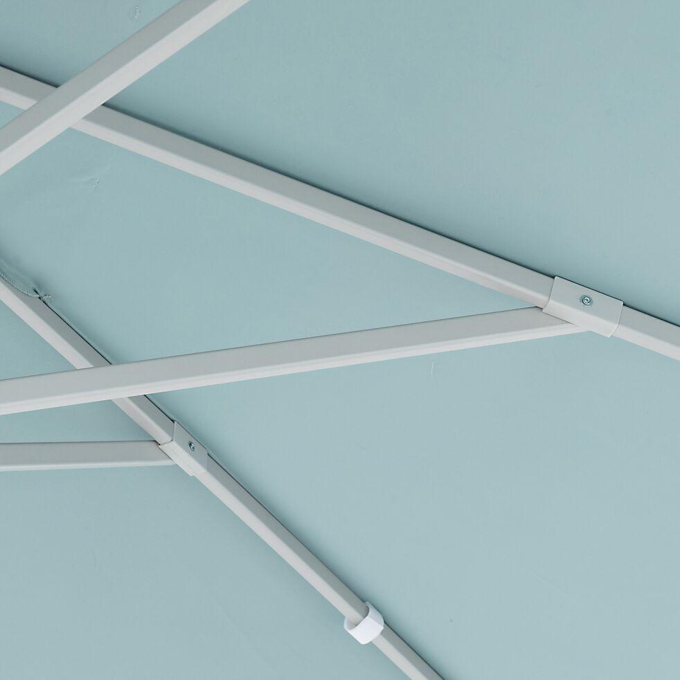 Parasol avec manivelle L3xl3m - bleu céou-UMBERTA