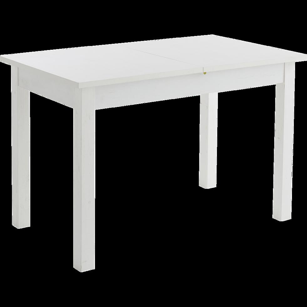 980b24fabc985e Table de repas blanche extensible - 4 à 6 places - YVON - tables ...