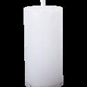 Bougie cylindrique coloris blanc capelan-BEJAIA