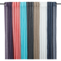 Voilage à œillets blanc 130x250cm-Alby
