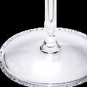 Verre à eau en verre transparent 42cl-CELLA